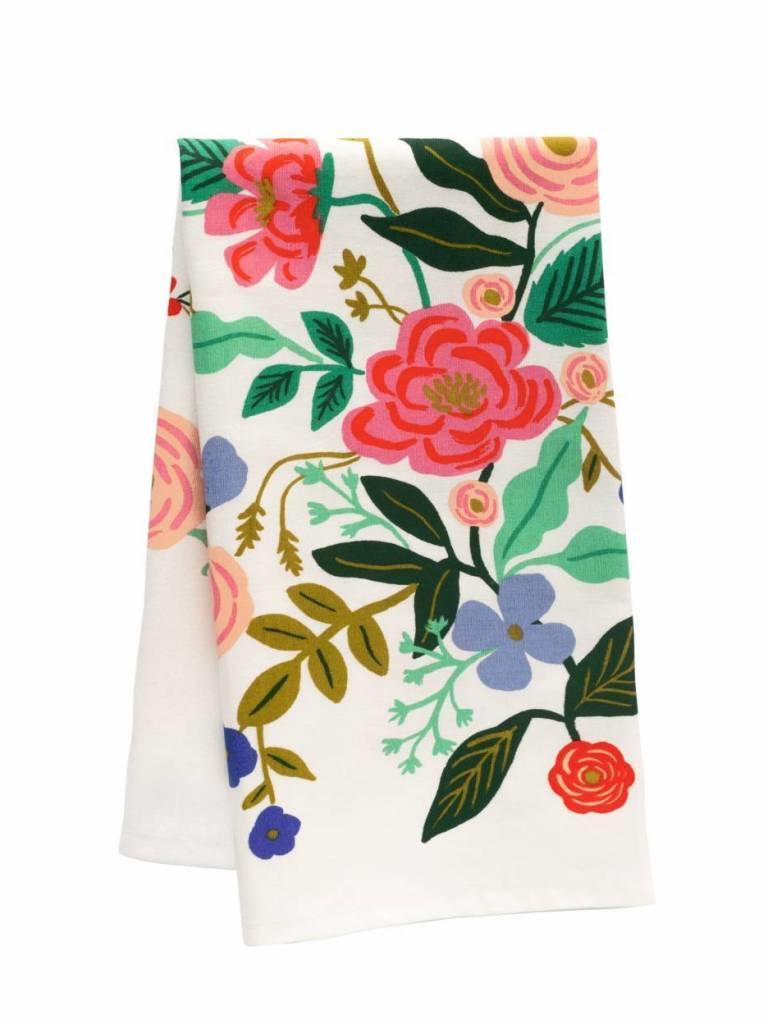 Floral Vines Tea Towel