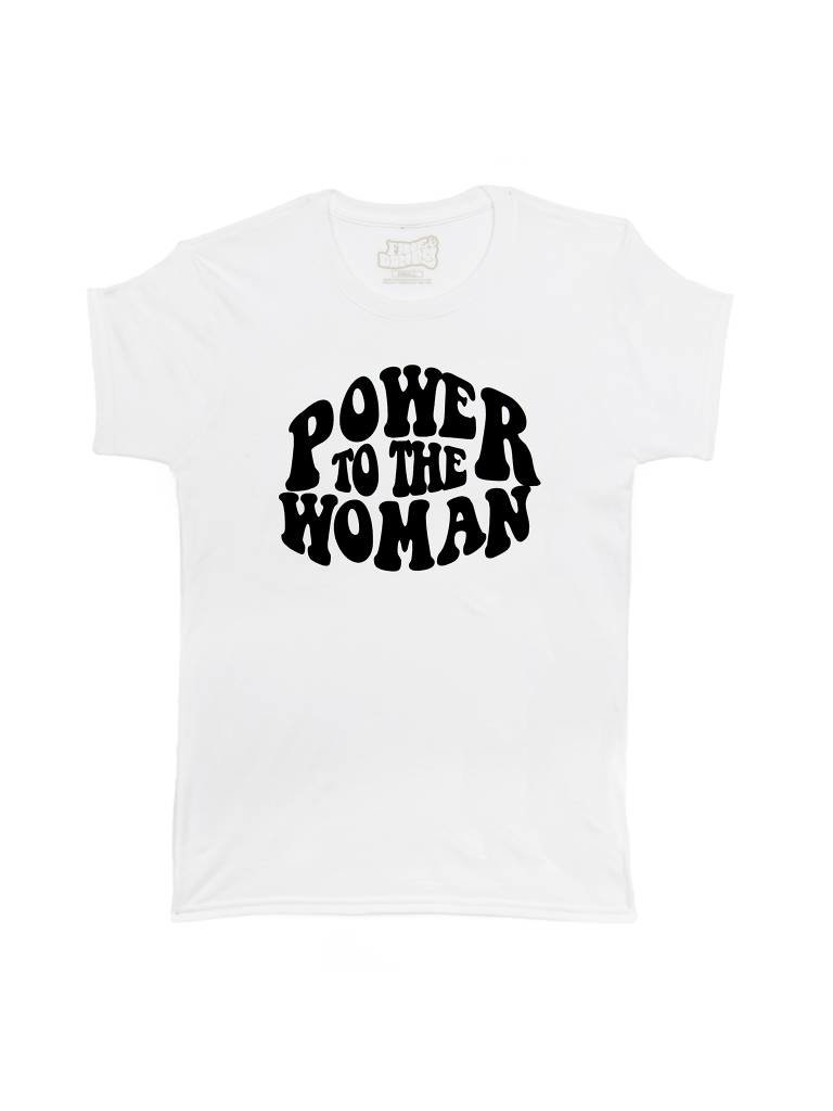 Power to the Woman Tee