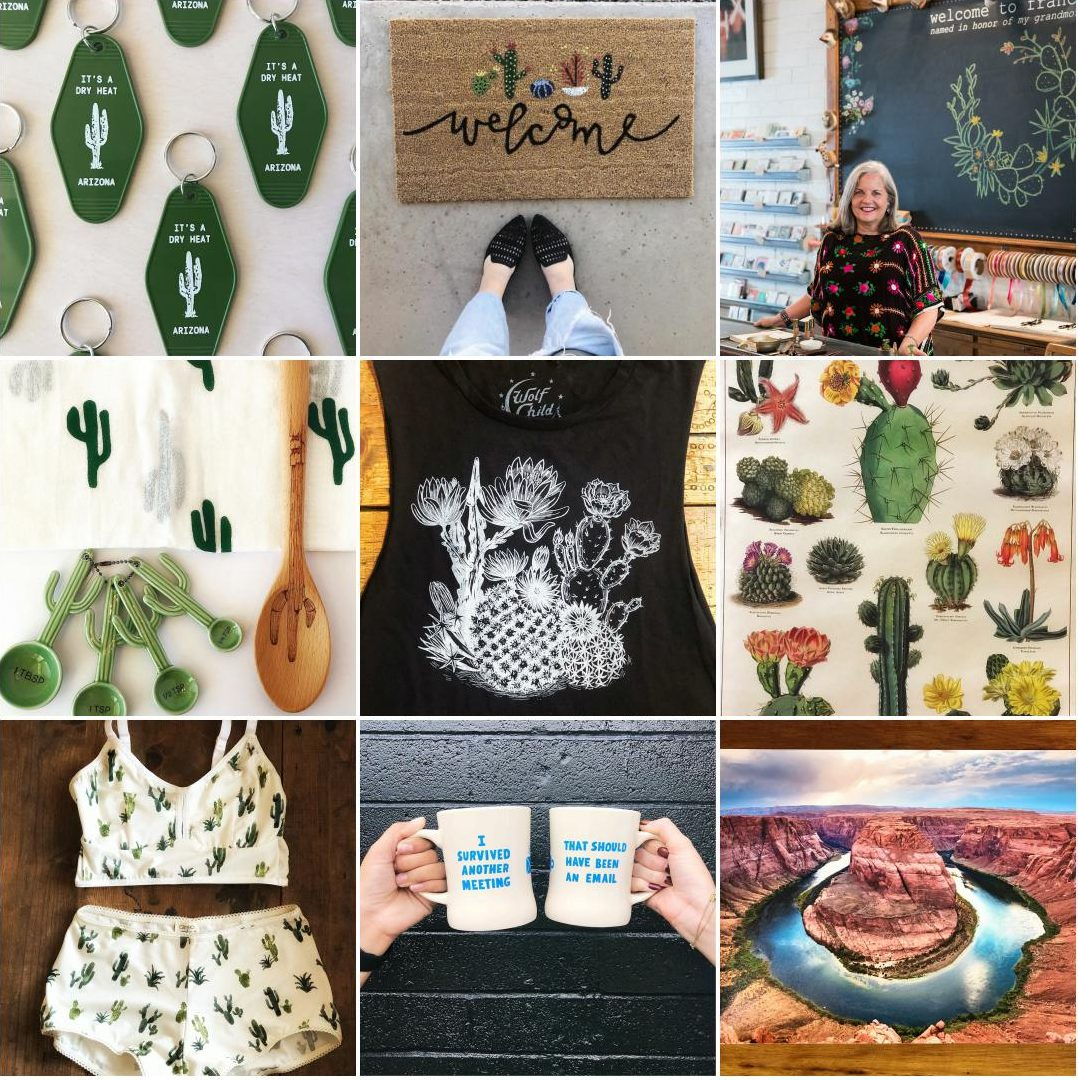 Top 9 Instagram Posts from Phoenix, AZ Gift Boutique