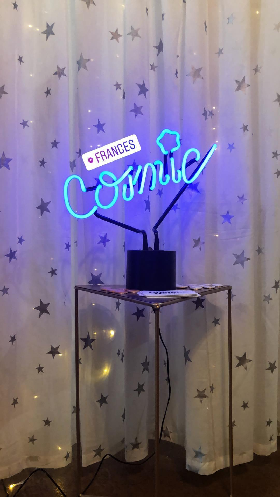 Cosmic Hour's set up at Frances boutique in Phoenix, AZ