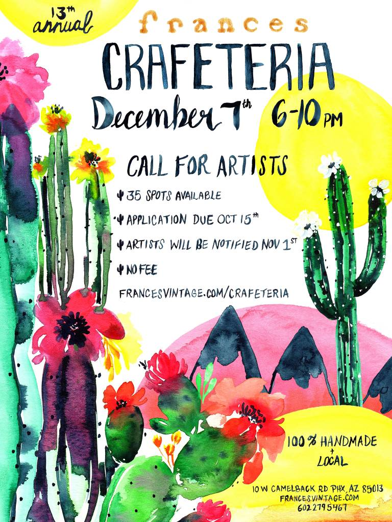 Calling All Artists & Crafters!