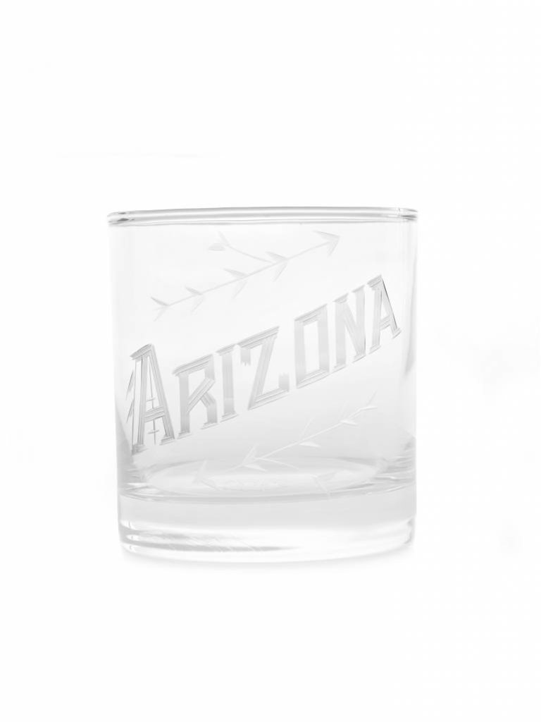 Arizona Engraved Rocks Glass