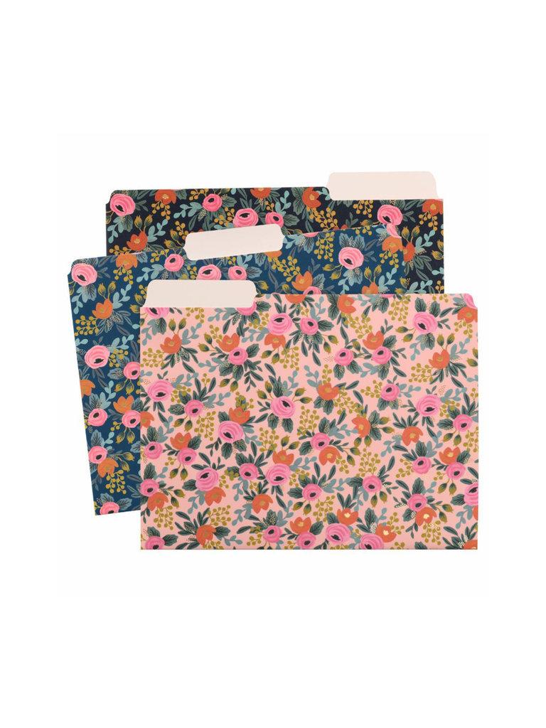 Floral File Folder Set