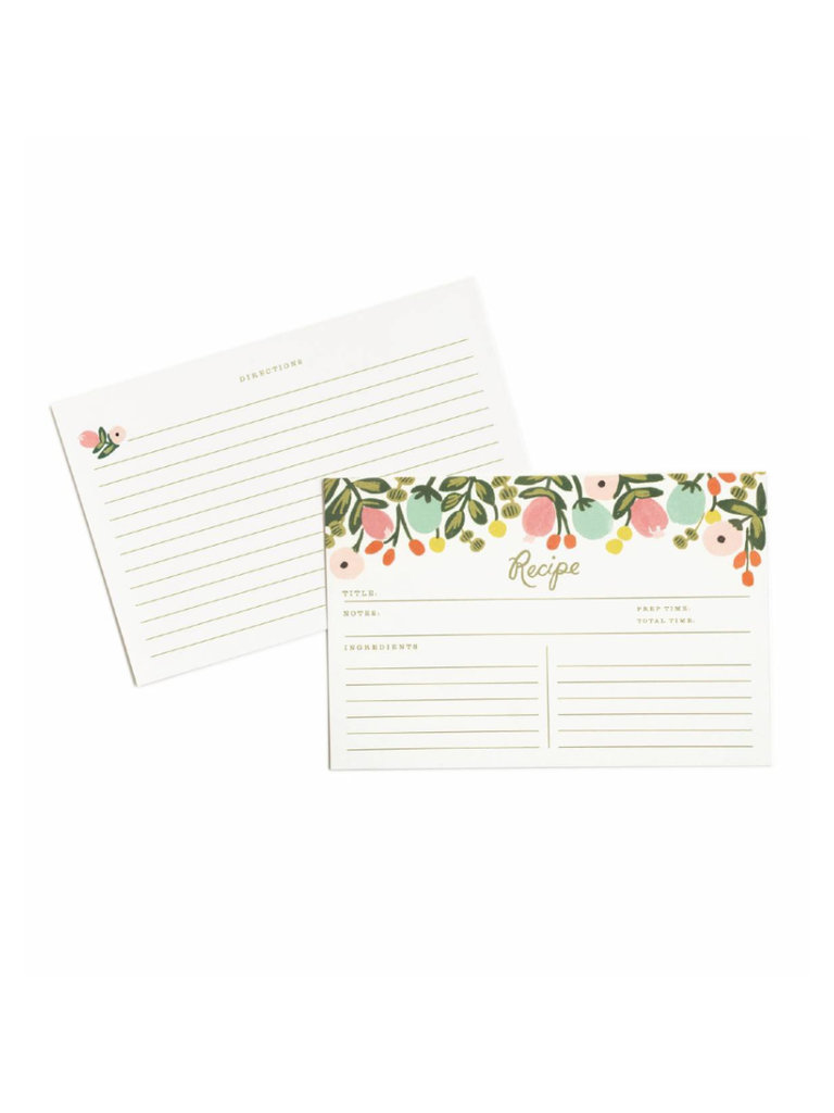 Hanging Garden Recipe Cards