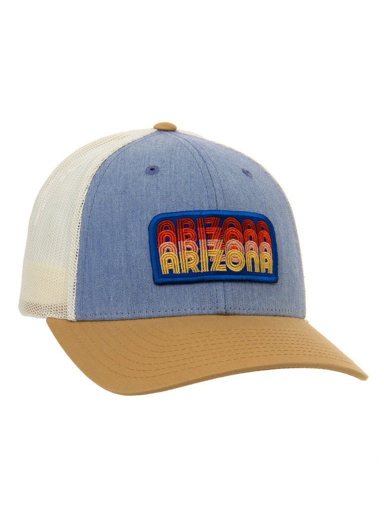 Frances Boutique Holiday Gifts Stacked AZ Trucker Hat