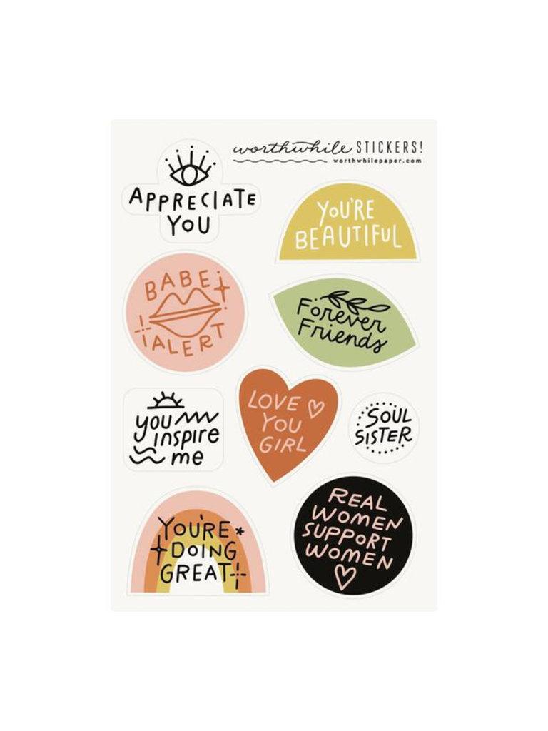 Friendship Sticker Set