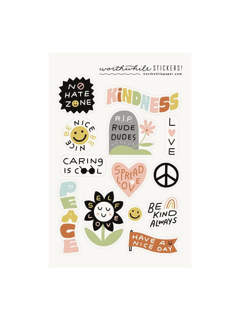 Kindness Sticker Set
