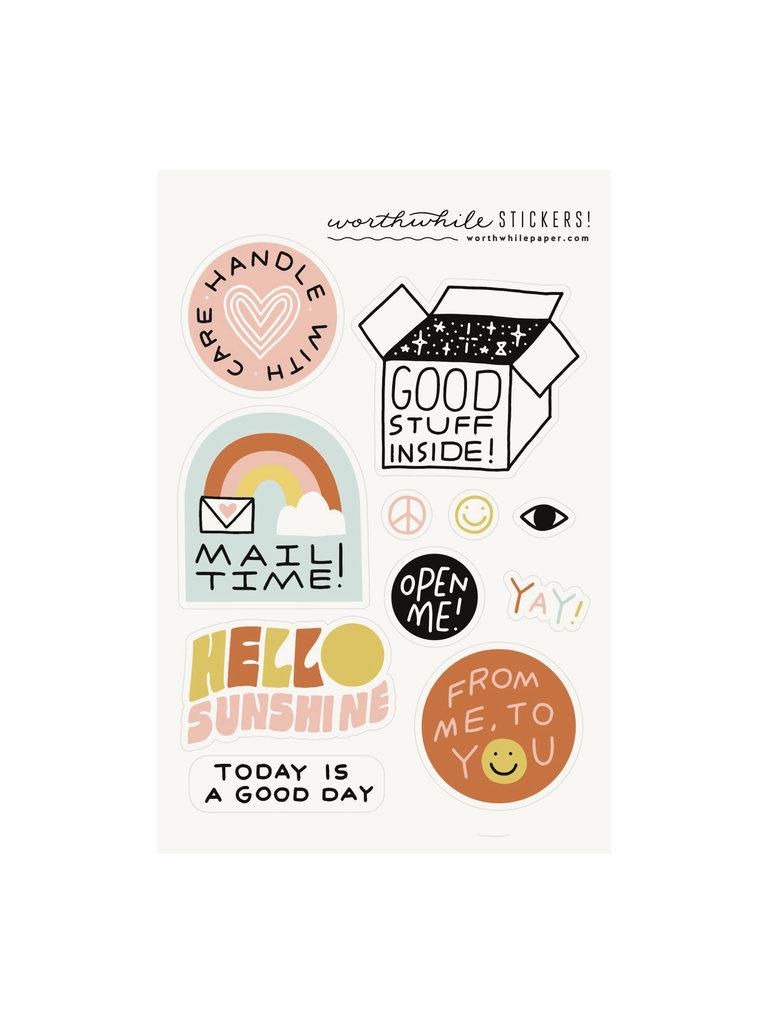Snail Mail Sticker Set