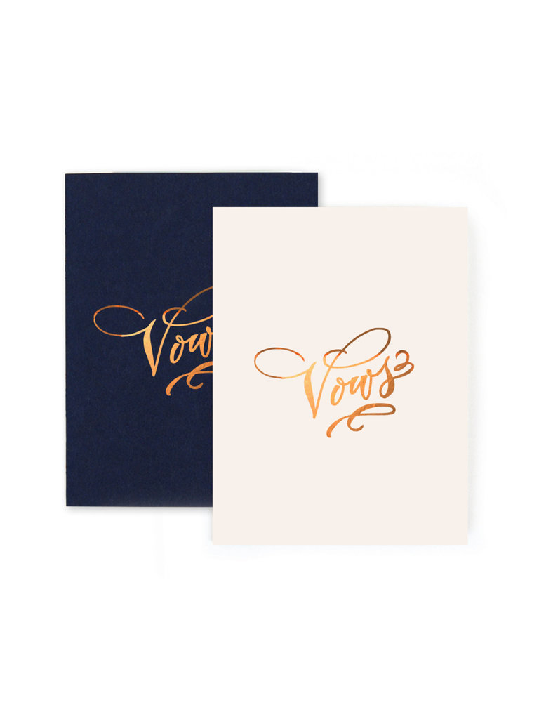 Vows Notebook Set