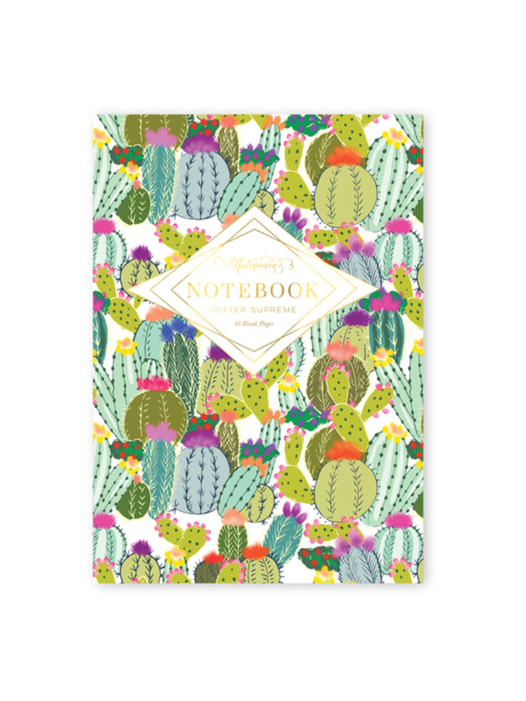 Cactus Explosion Notebook