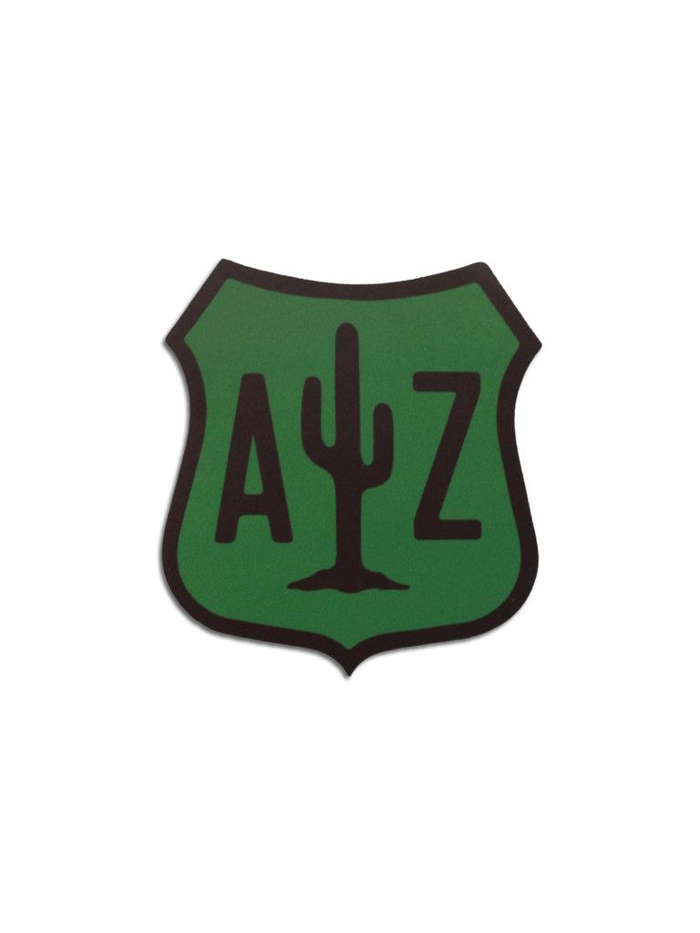 AZ Cactus Sign Sticker
