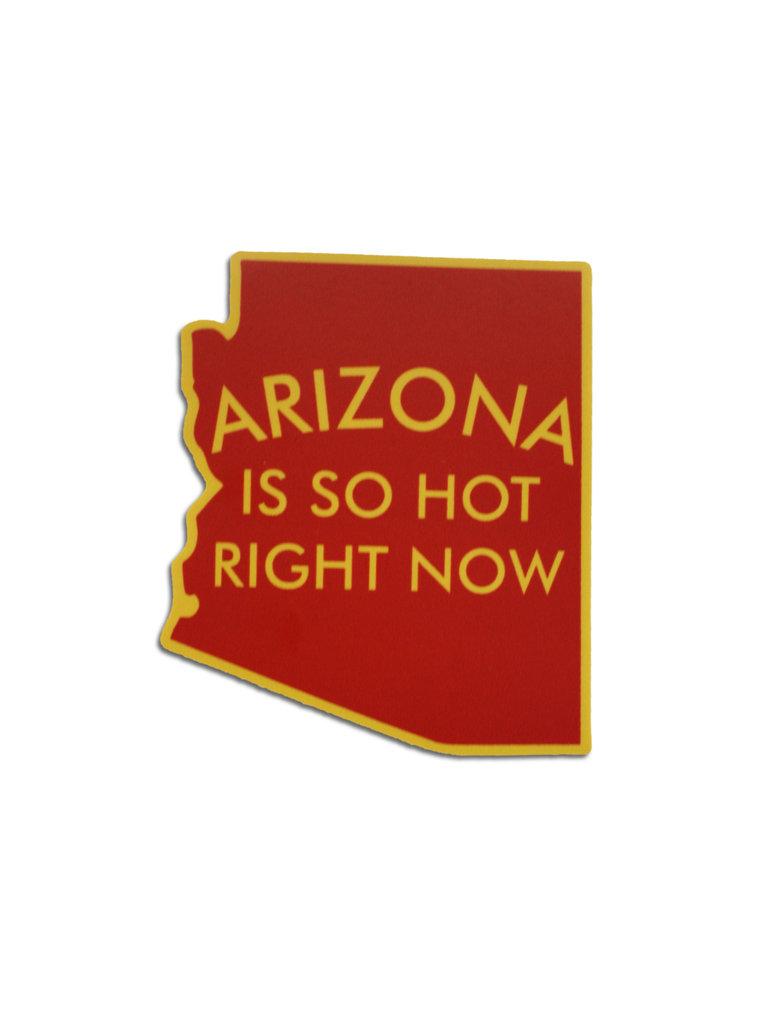 Arizona Is So Hot Sticker