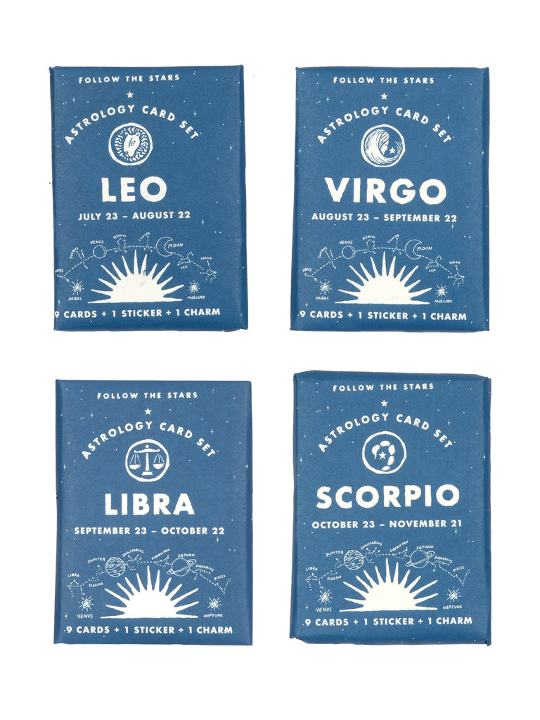 Zodiac Card Set
