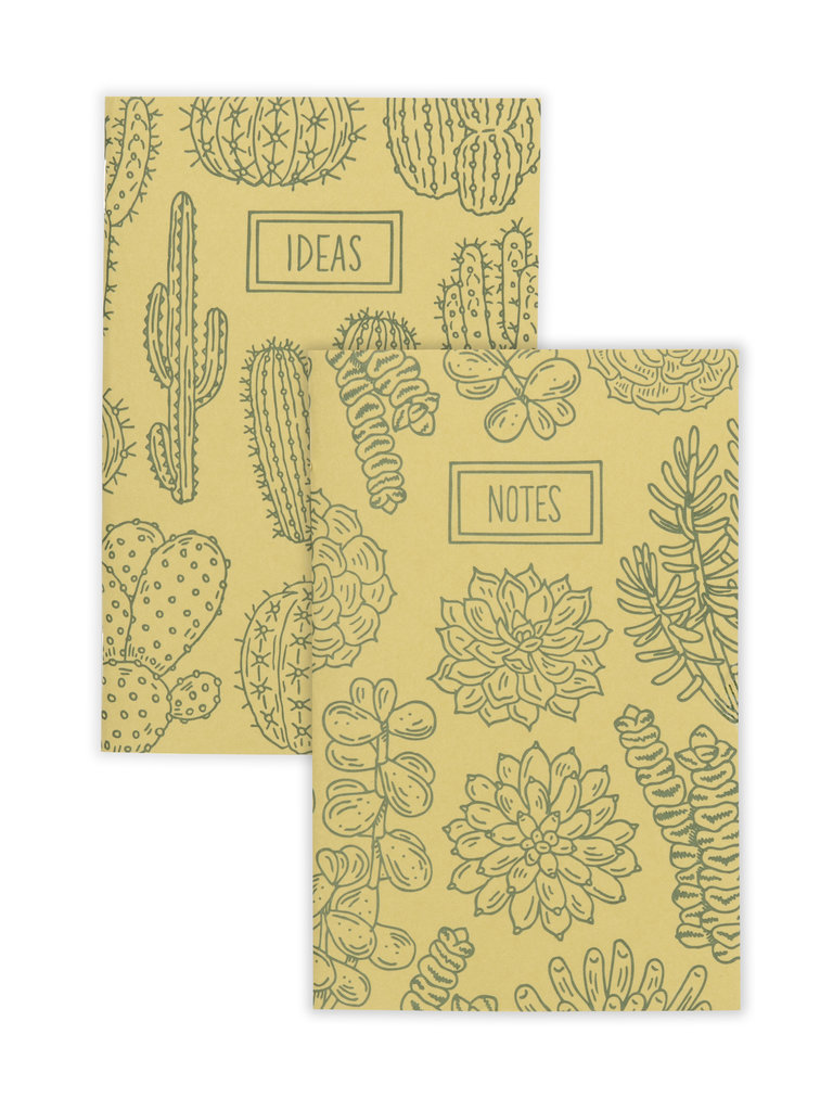 Cactus & Succulent Notebook Set