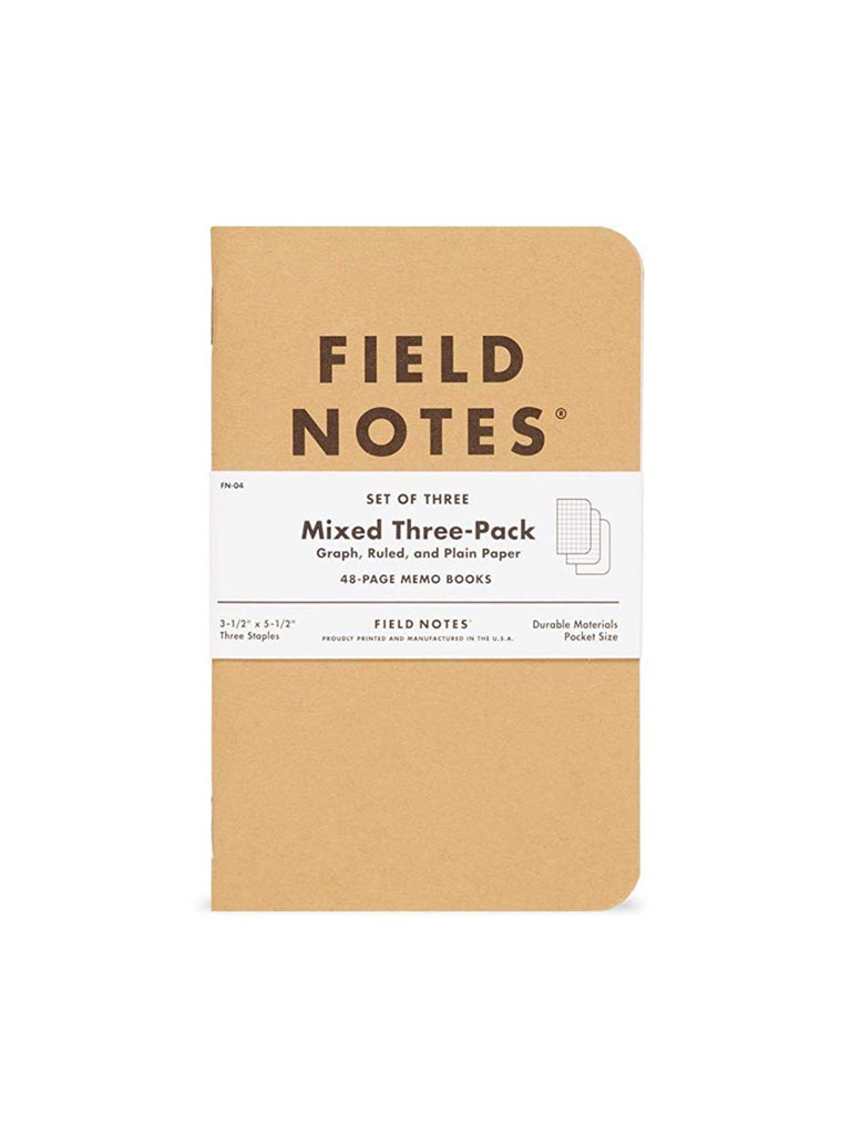 Field Notes Kraft Memo Books, Mixed