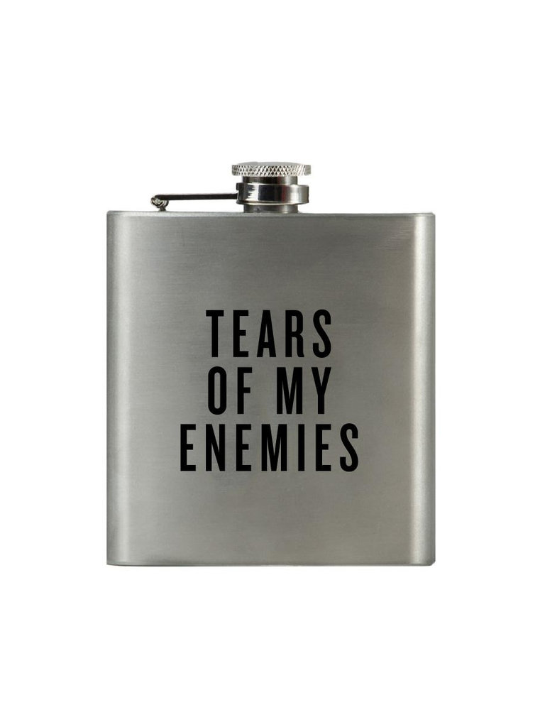 Frances Boutique Holiday Gifts Tears of My Enemies Flask
