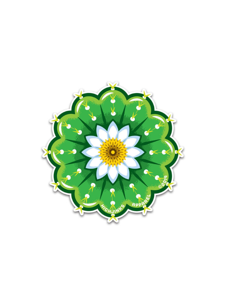 Cactus Flower Sticker