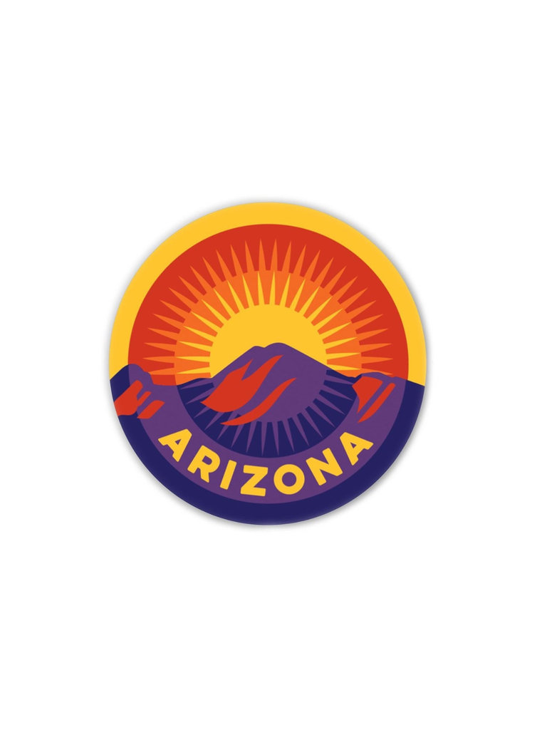 Sunset on Camelback Sticker