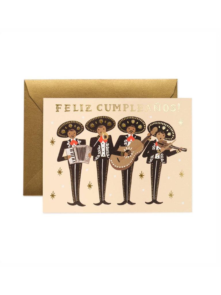 Mariachi Birthday Card