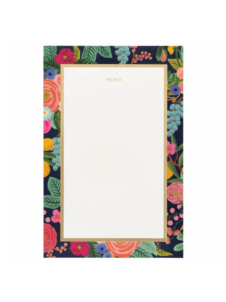 Memo Notepad Garden Party