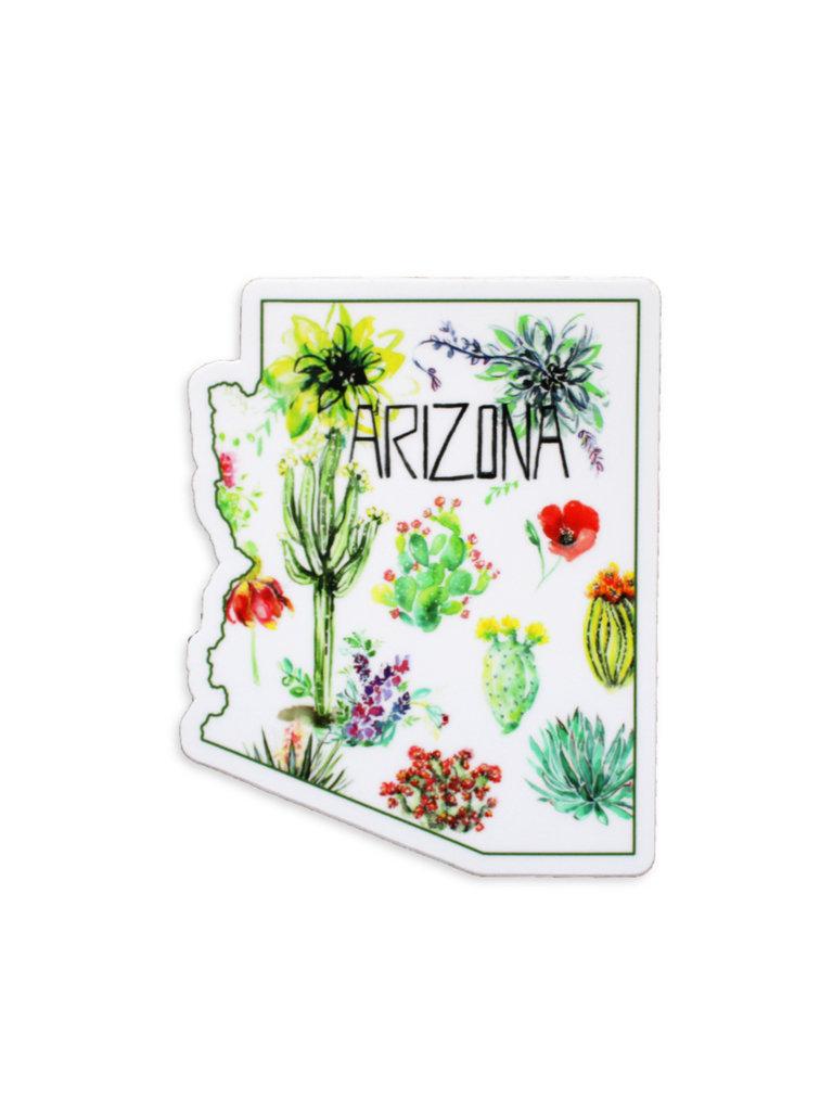 Watercolor Arizona Sticker