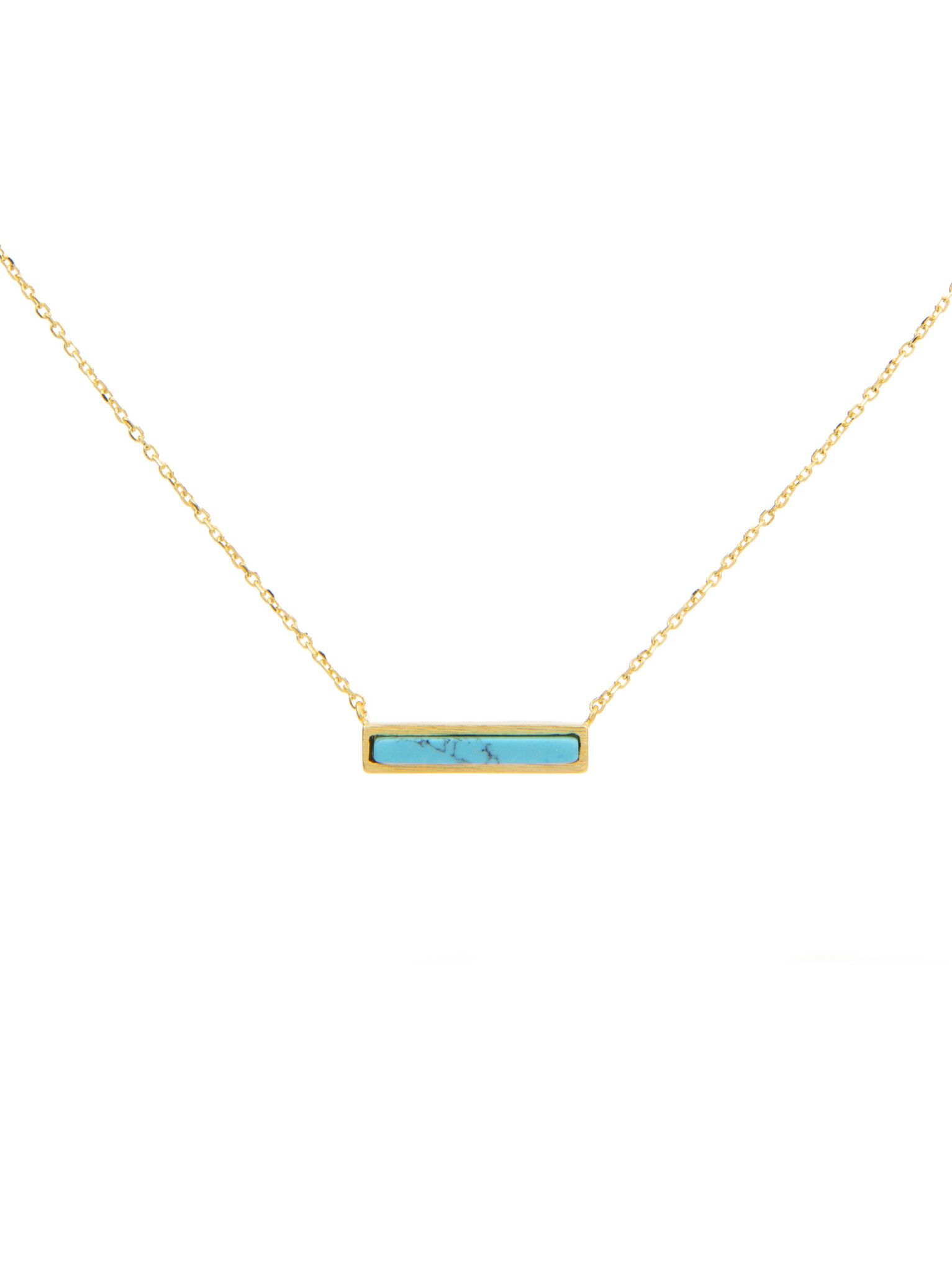 Frances Boutique Phoenix Arizona Souvenirs Turquoise Bar Necklace