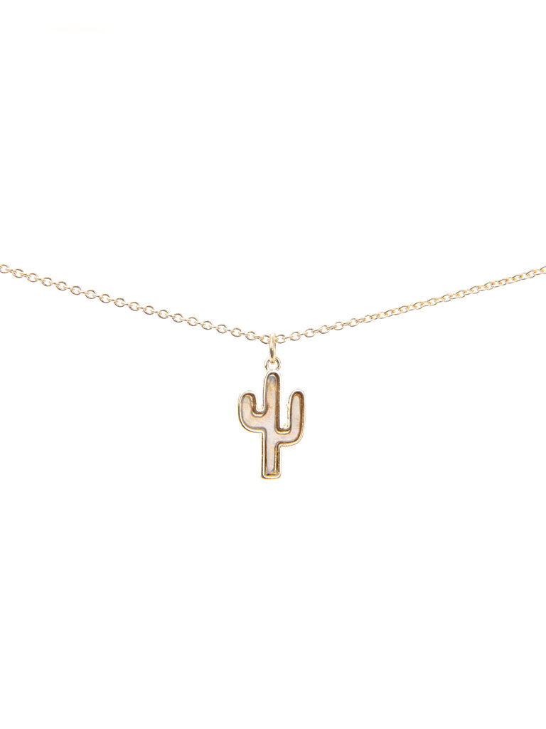 Frances Boutique Phoenix Arizona Souvenirs Shell Cactus Necklace