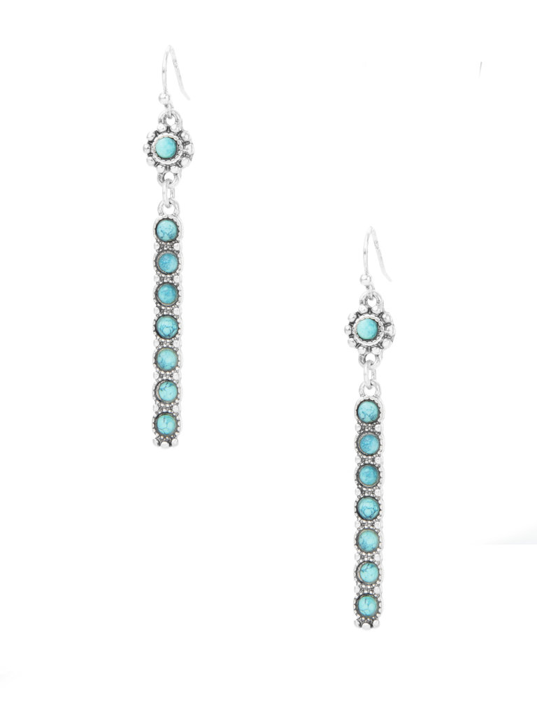 Frances Boutique Phoenix Arizona Real Turquoise Jewelry Earrings