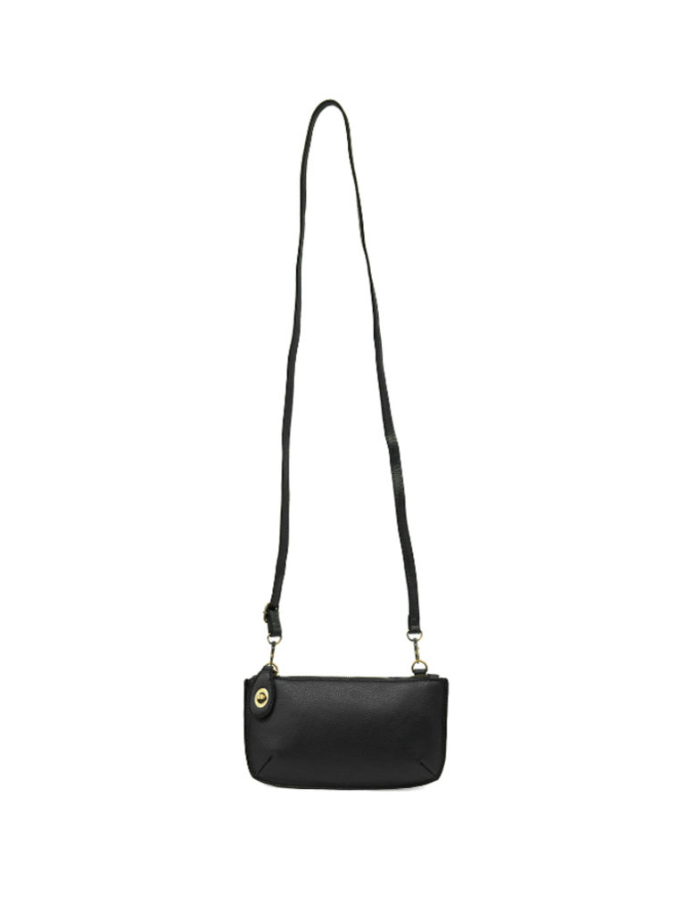 Crossbody Wristlet, Black