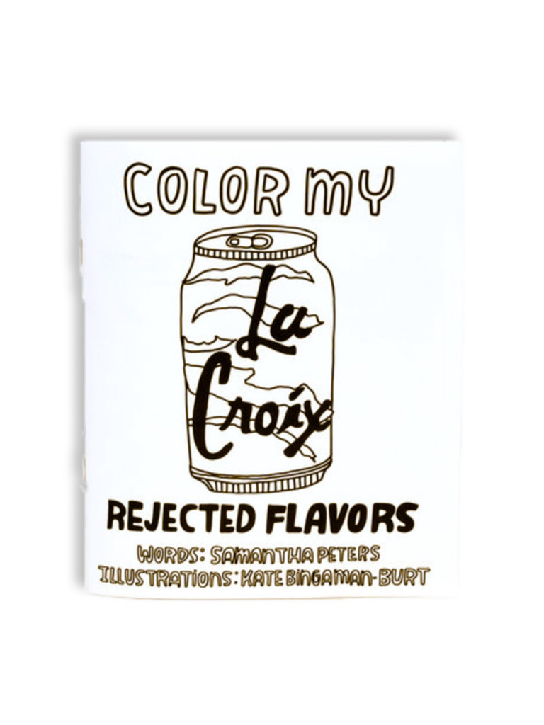 Color My La Croix Coloring Book Frances