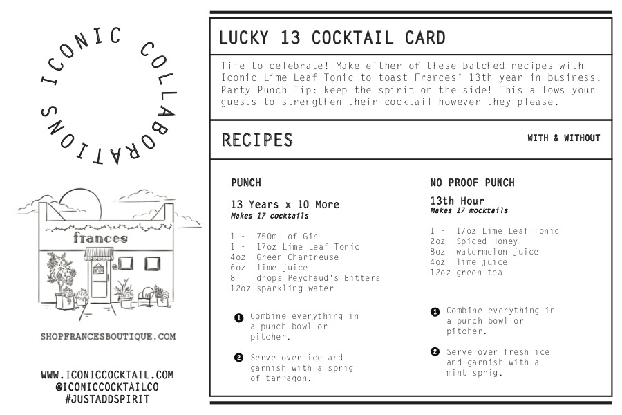 Exclusive Lucky 13 Cocktail from Iconic Cocktail Company