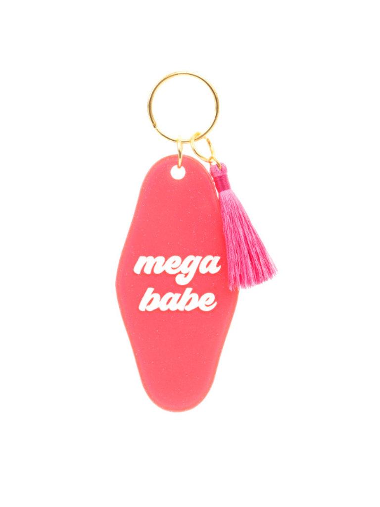 Mega Babe Keychain