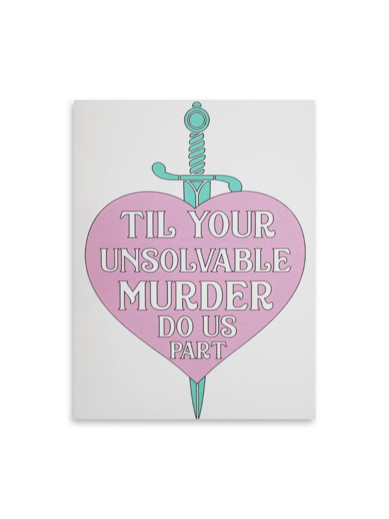 Til Your Unsolvable Murder Card