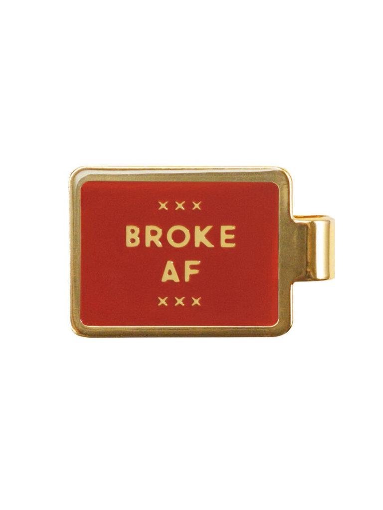 Broke AF Money Clip