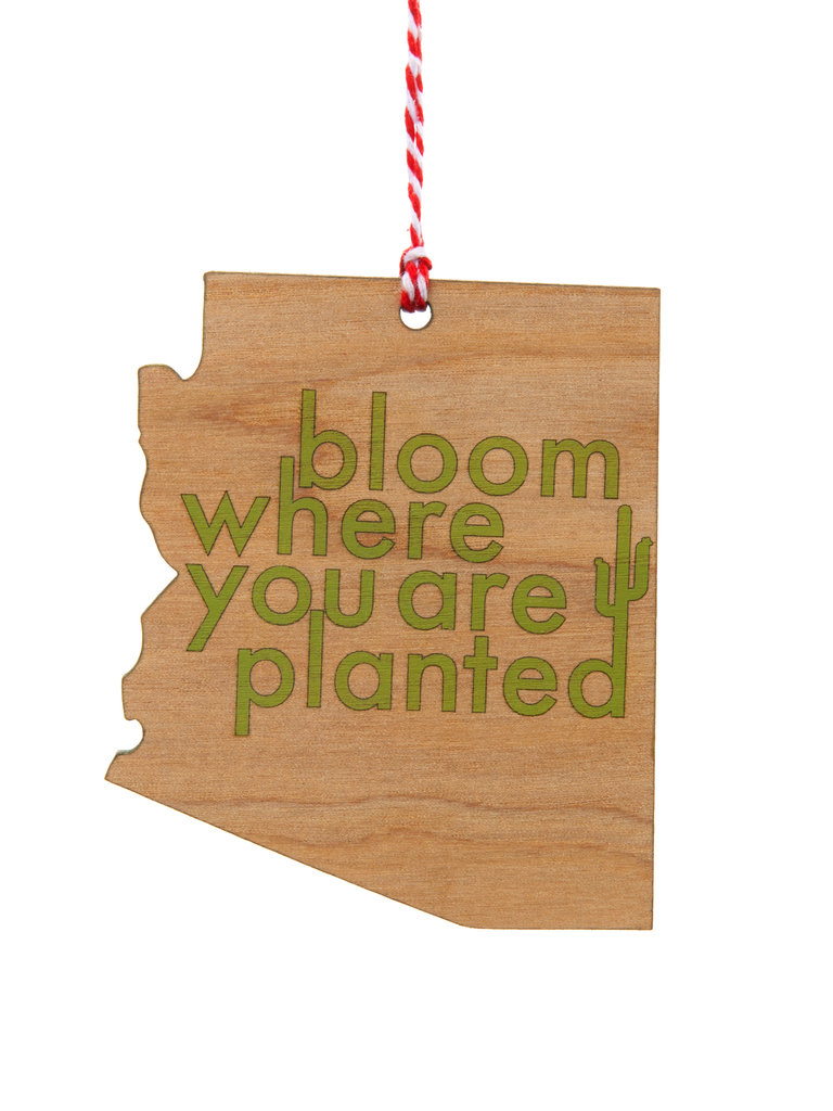 Frances Boutique Holiday Gifts Bloom Where You Are Planted Ornament