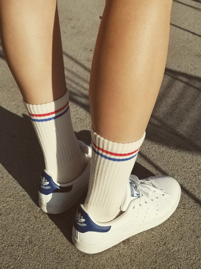 Boyfriend Socks, Milk