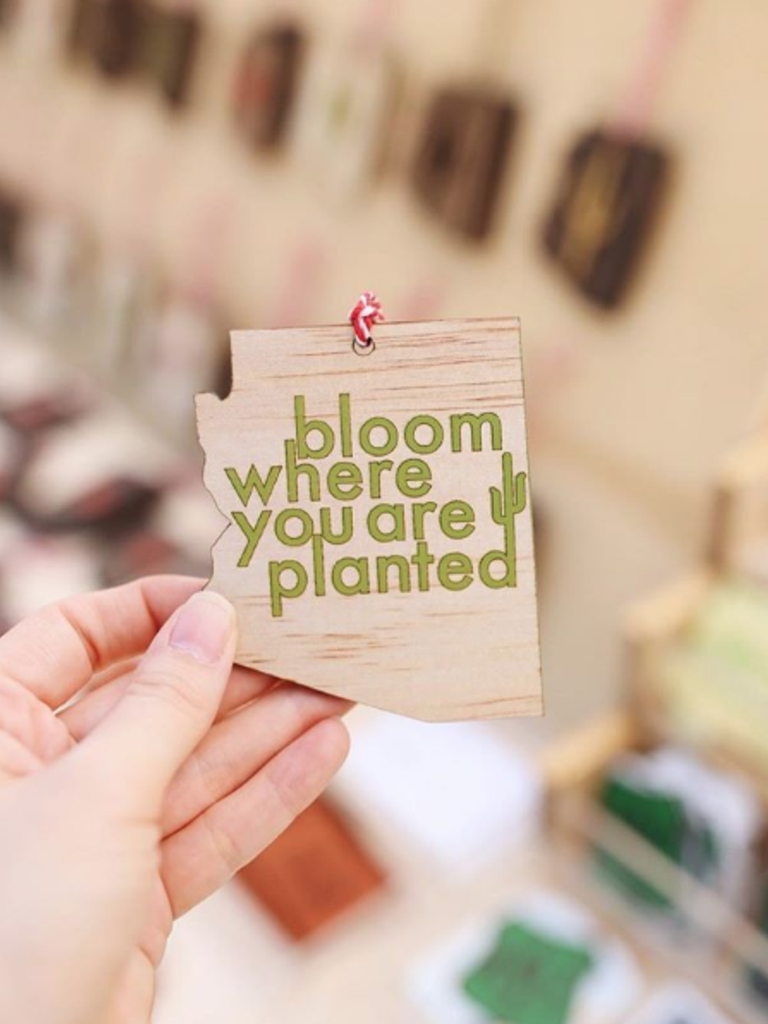 Bloom Where You Are Planted Ornament