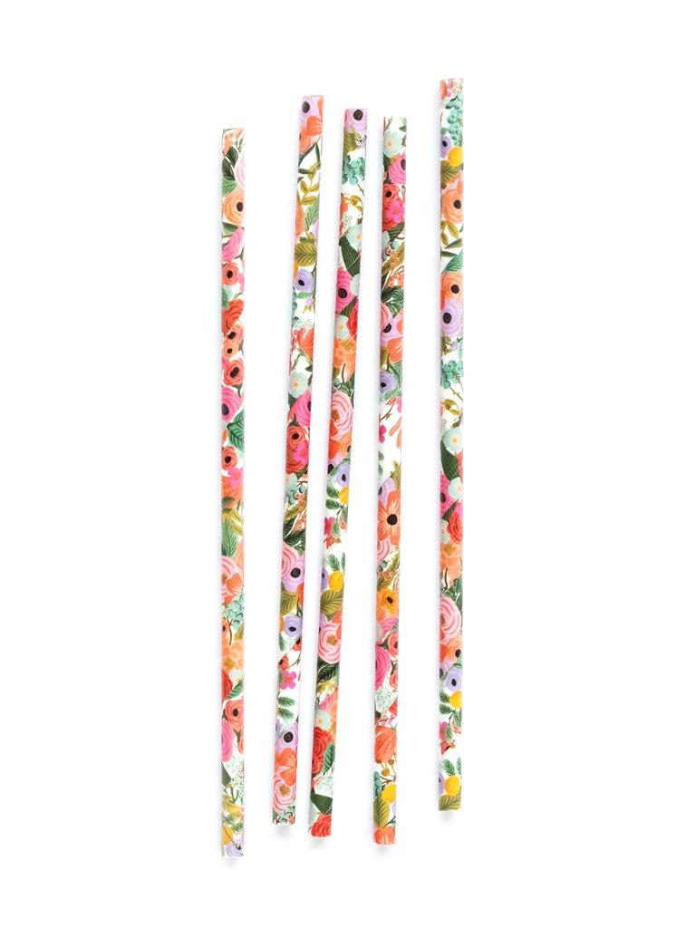 Garden Party Paper Straws