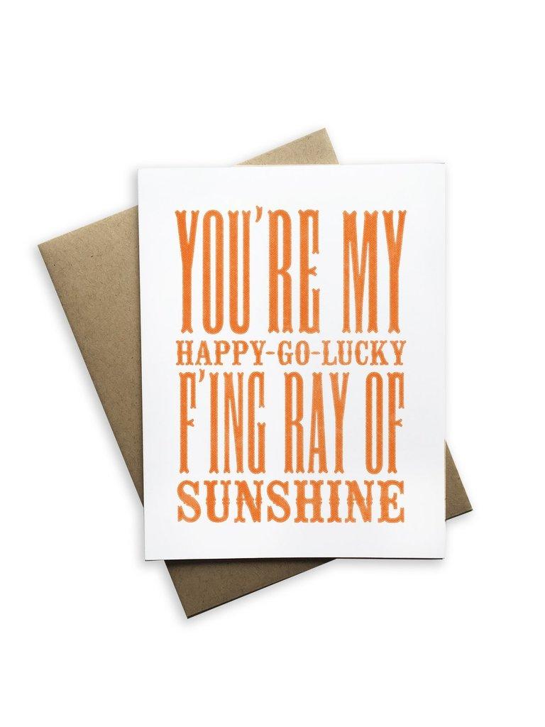 Happy Go Lucky Card
