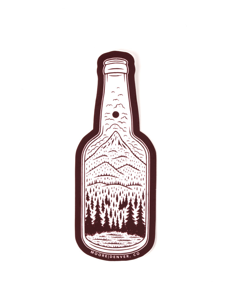 Bottle Nature Sticker
