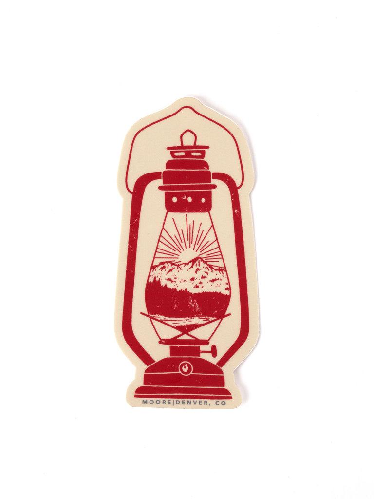 Lantern Nature Sticker