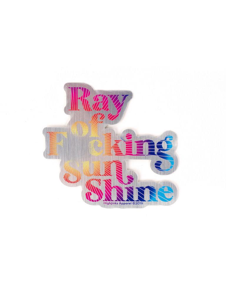 Ray of Sunshine Sticker