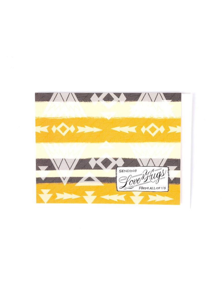 Love & Hugs Blanket Card