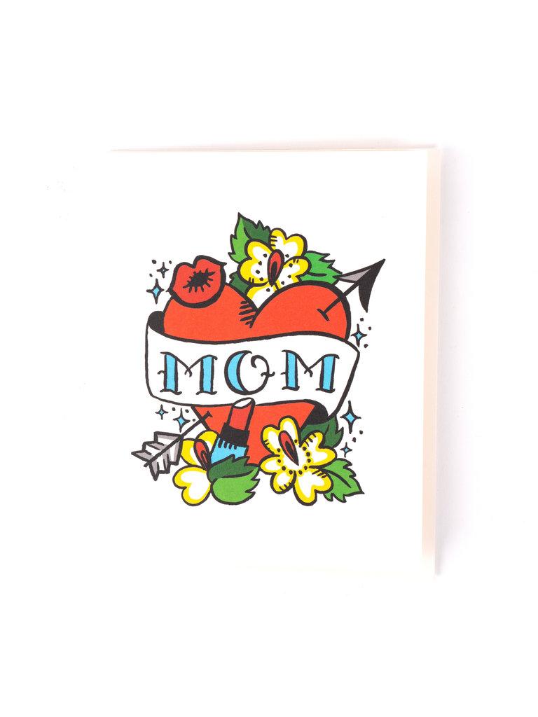 Mom Arrowed Heart Card