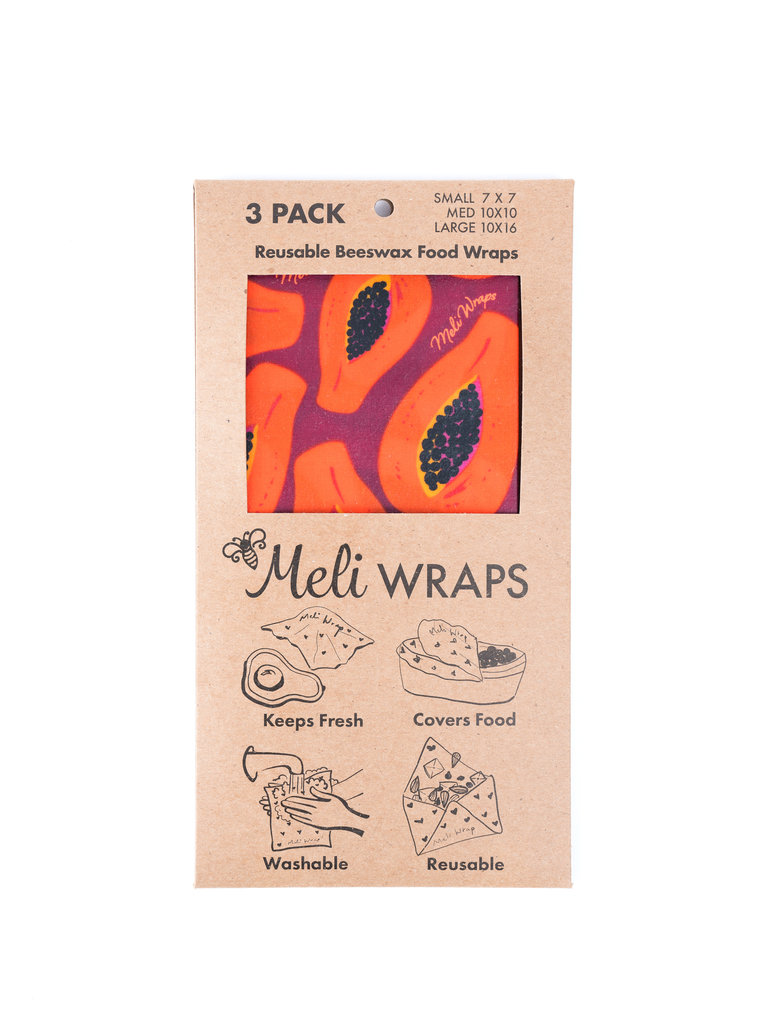 Food Wraps, Purple Papaya