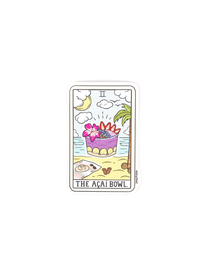 Acai Bowl Sticker