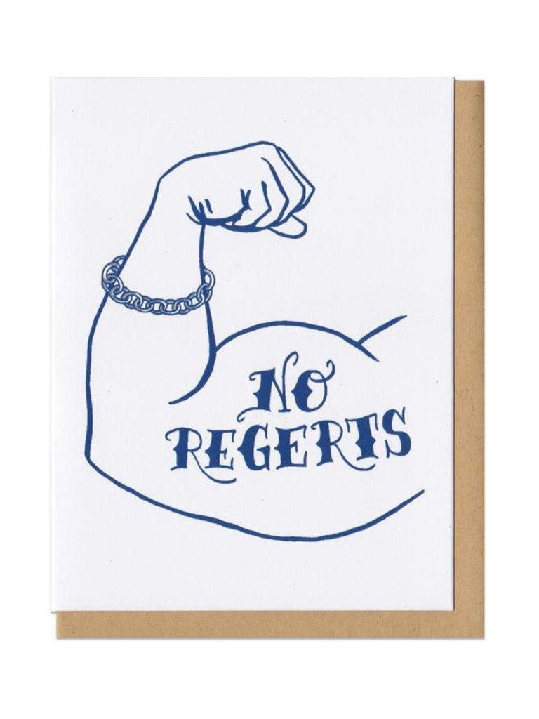 No Regrets Card
