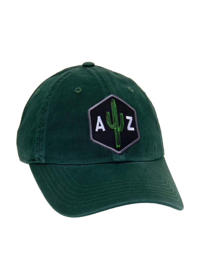 Black AZ Saguaro Scout Dad Hat