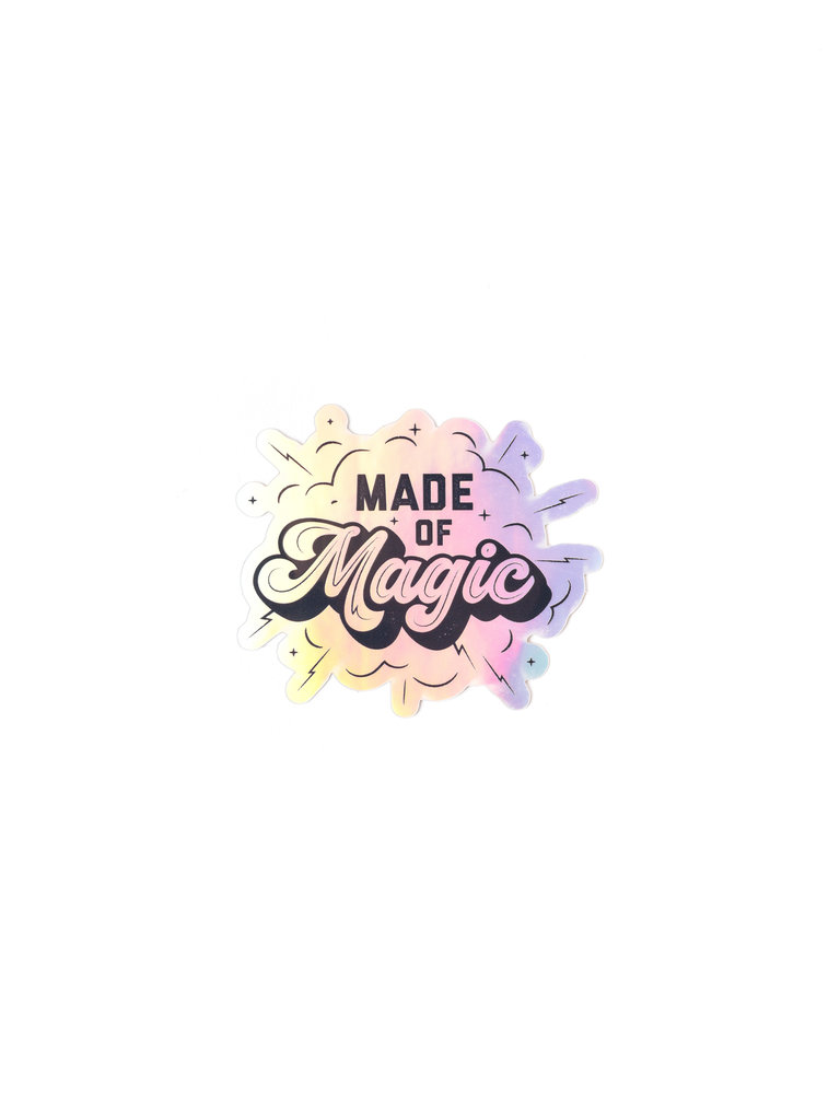 Made Of Magic Sticker
