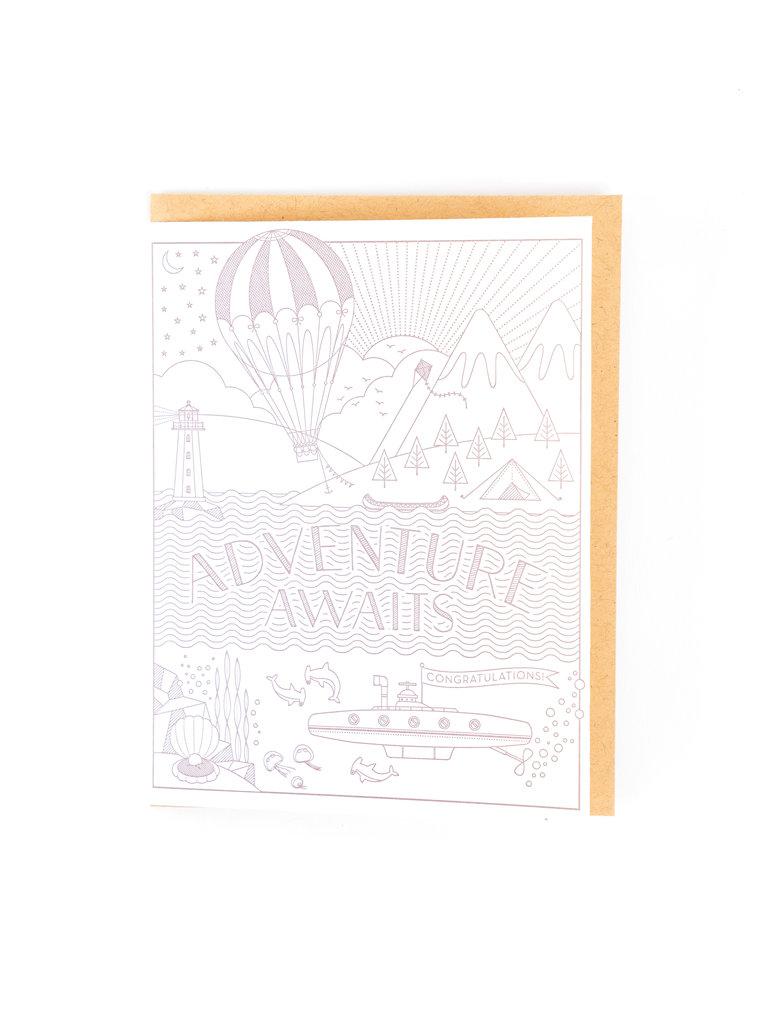 Adventure Awaits Card
